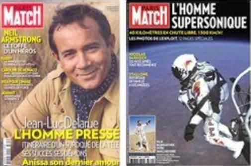 Comparatif saut de Felix Baumgartner et disparition de Neil Armstrong par Paris-Match Dsdsd10