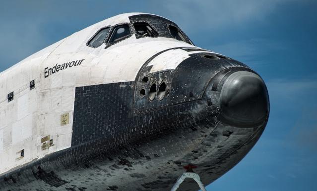 La navette spatiale Endeavour s'envole pour le California Science Center de Los Angeles Endeav13