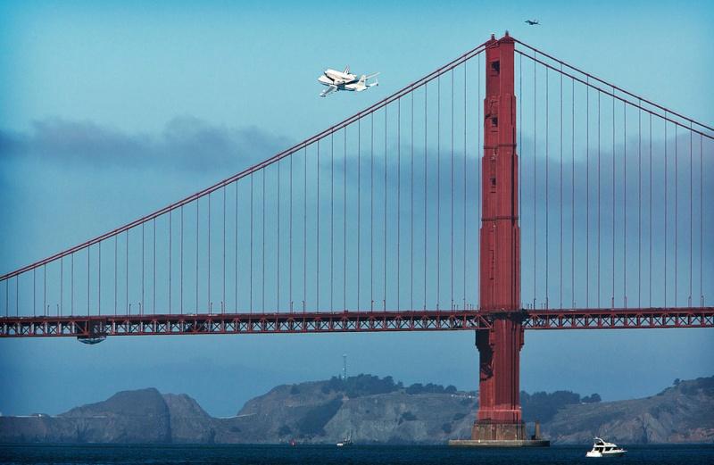 La navette spatiale Endeavour s'envole pour le California Science Center de Los Angeles Fdfdfd10