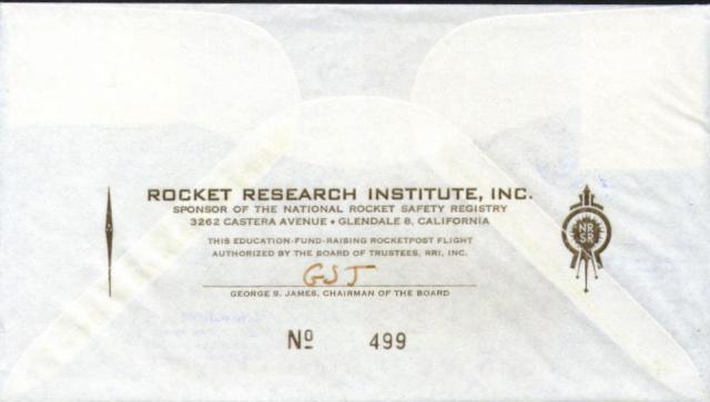 Philatélie Spatiale USA - 1964 - Robert H. Goddard Goddar11