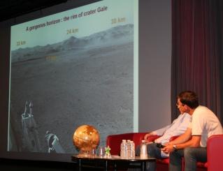 11 août 2012 - Premières Images de Curiosity - Cité des Sciences et de l'Industrie à Paris Img_9417