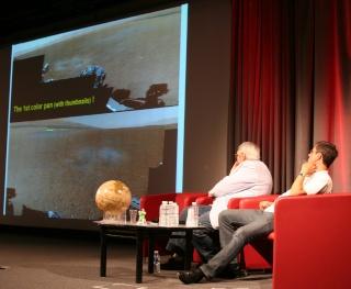 11 août 2012 - Premières Images de Curiosity - Cité des Sciences et de l'Industrie à Paris Img_9418