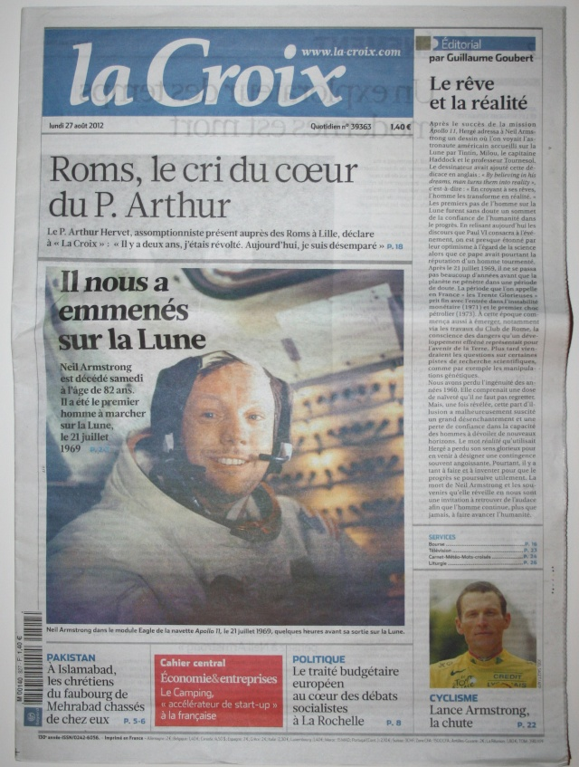 Disparition de Neil Armstrong - La couverture médiatique de la presse écrite (France) Img_9517