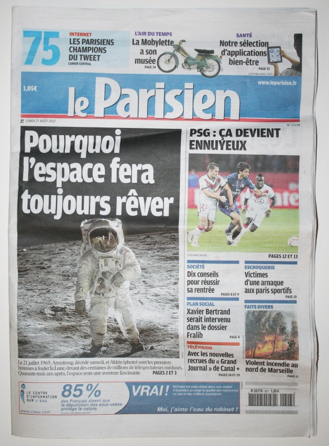 Disparition de Neil Armstrong - La couverture médiatique de la presse écrite (France) Img_9519