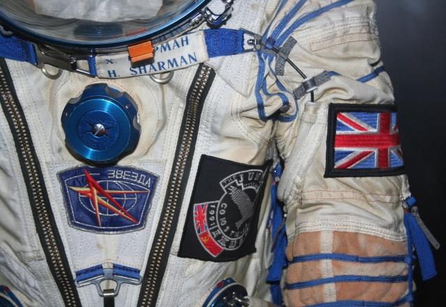 Combinaison d'Helen Sharman - Soyouz TM-12 - Première anglaise dans l'espace - 1991 Img_9612