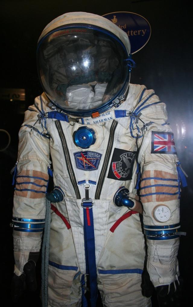 Combinaison d'Helen Sharman - Soyouz TM-12 - Première anglaise dans l'espace - 1991 Img_9614