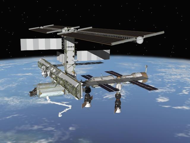 Confirmation d'une mission de un an à bord de l'ISS en 2015 Iss_vu10