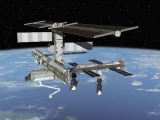 Confirmation d'une mission de un an à bord de l'ISS en 2015 Iss_vu11