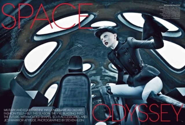 Karen Elson pour Vogue de septembre 2012 / SpaceShipTwo et Virgin Galactic Karen-10