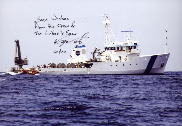 Le navire Liberty Star quitte la NASA - 21 août 2012 Libert15
