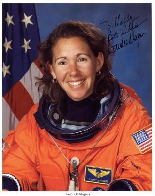 L'astronaute Sandra Magnus quitte la NASA Magnus11