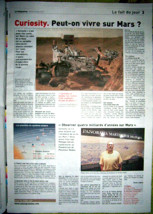 MSL et Curiosity arrivent sur la planète Mars Page_310