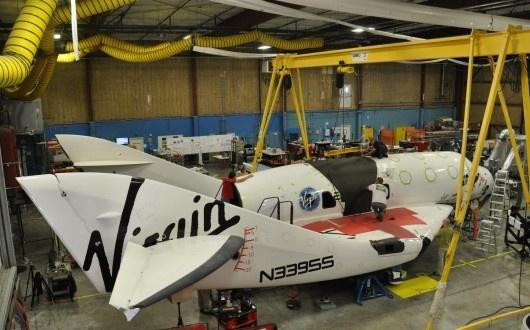 Virgin Galactic se prépare aux premiers essais en vol du réacteur Sans-t13
