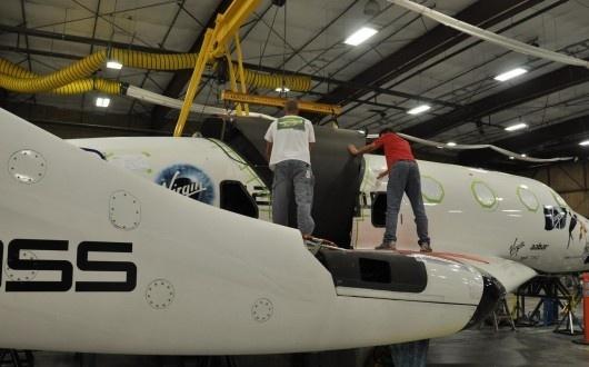 Virgin Galactic se prépare aux premiers essais en vol du réacteur Sans-t14
