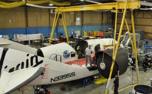 Virgin Galactic se prépare aux premiers essais en vol du réacteur Sans-t15