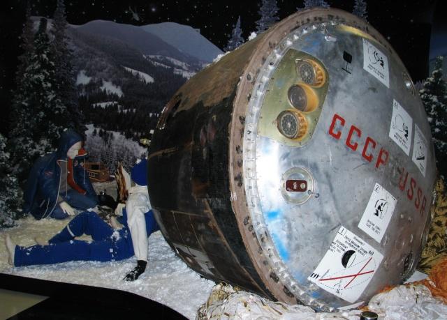 Capsule Soyouz TM-7 - Jean-Loup Chrétien mission Aragatz - 1988 Soyouz16