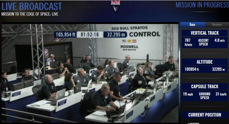 Red Bull Stratos - Felix Baumgartner dans les pas de Joe Kittinger Strat012