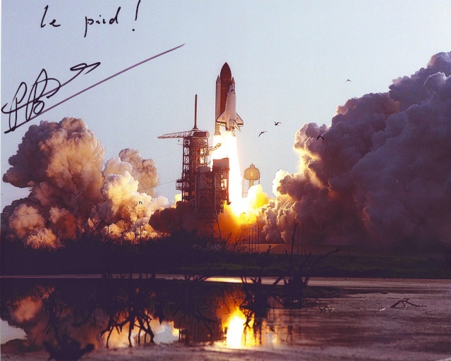 Navette spatiale Discovery - Mission STS-51G Patrick Baudry - 1985 Sts-5112