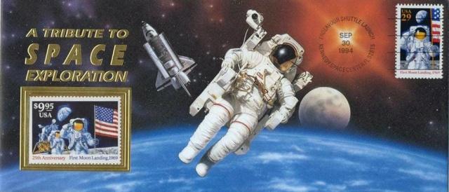 STS-68 / Timbre ayant voyagé officiellement à bord de la navette spatiale Endeavour Sts-6810