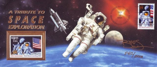 STS-68 / Timbre ayant voyagé officiellement à bord de la navette spatiale Endeavour Sts-6811
