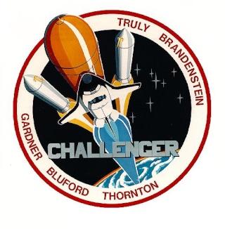 La première enveloppe ayant voyagé à bord d'une navette spatiale - Mission STS-8 Sts-8_12