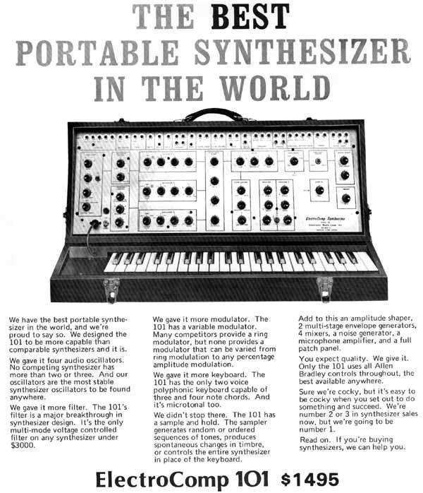 Electronic Music  Laboratories (E.M.L) Eml10110