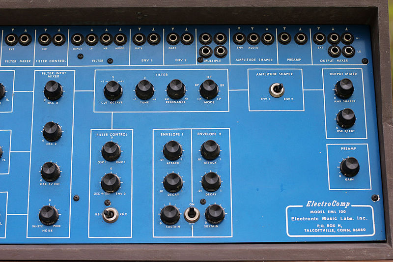 Electronic Music  Laboratories (E.M.L) Kgrhqe10