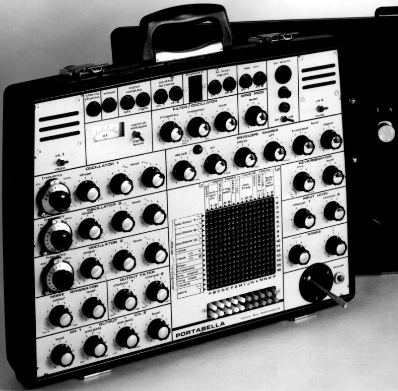 Electronic Music Studio Ltd (E.M.S)  Portab10
