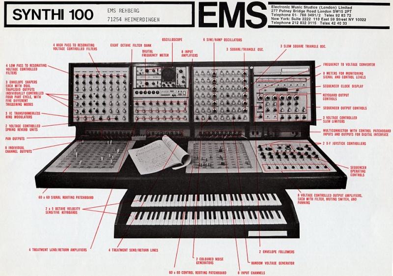 Electronic Music Studio Ltd (E.M.S)  Synthi10