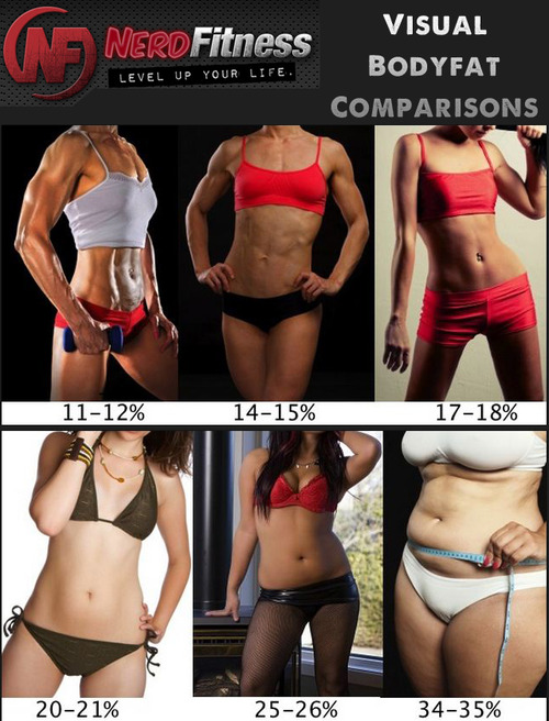 Srovnání - tuk v těle muže a ženy Tumblr11