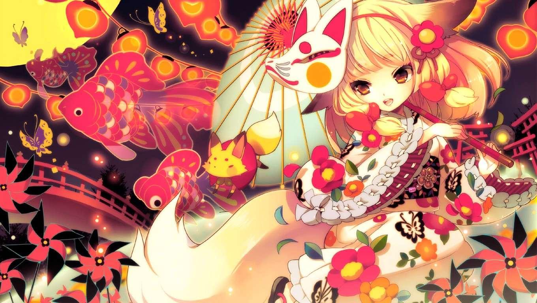 [Wallpaper] By biyeubau Fox10