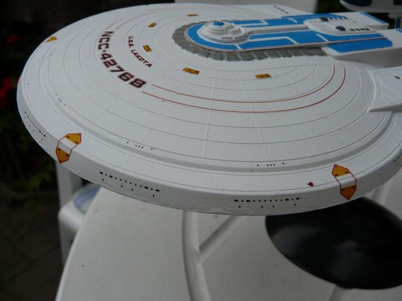 USS Enterprise -B 1/1000 : Excelsior class Saucer10