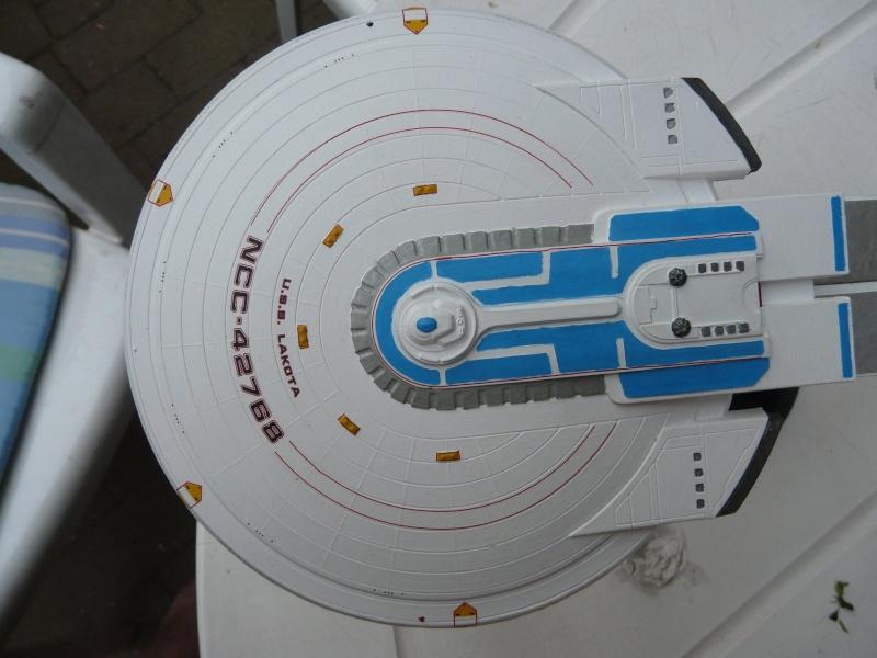 USS Enterprise -B 1/1000 : Excelsior class Saucer11