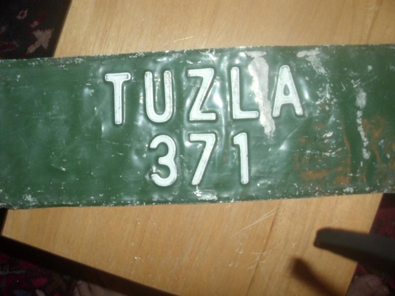 Bosnian Serb Vehicle License Plate 00712