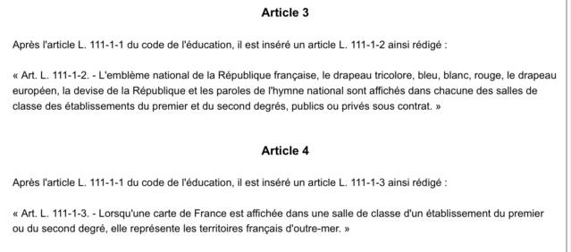 """La loi Blanquer pour une école de la """"confiance"""" est au JO du jour 246fea10"""