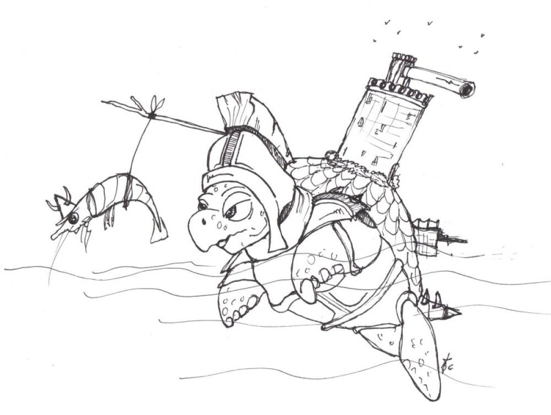 Tortuga! L'île des chasseurs de primes Tortle11
