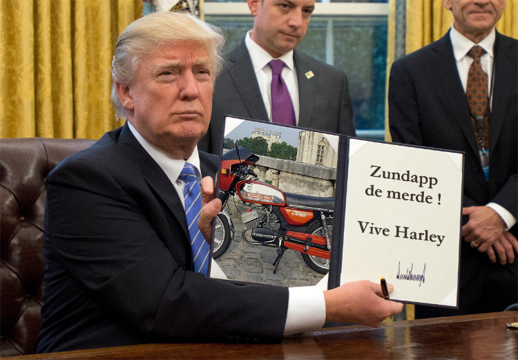 Le protectionnisme ! Trump10