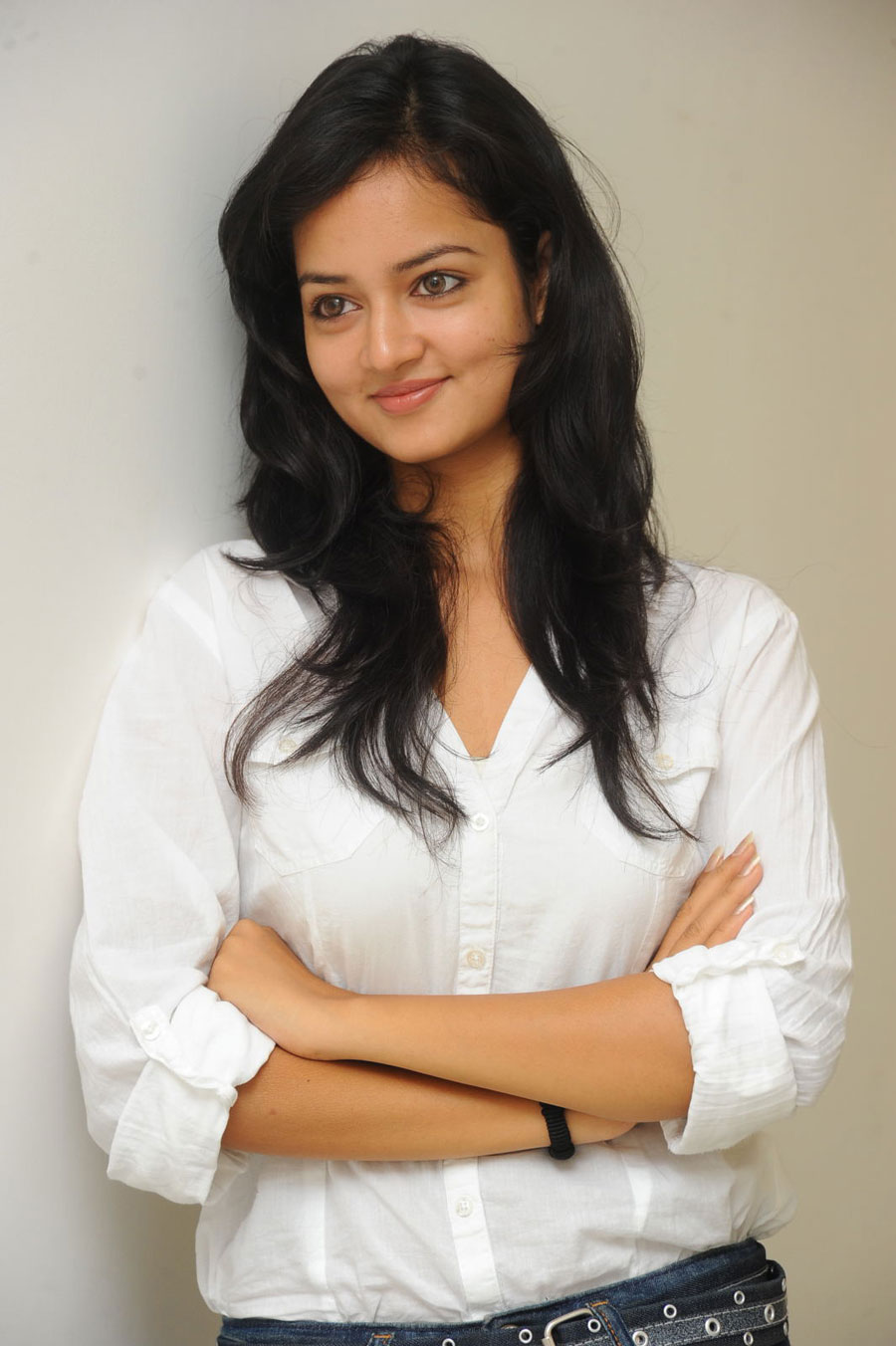 Shanvi Shoot in Adda Press Meet Photo Gallery Sanvi-10