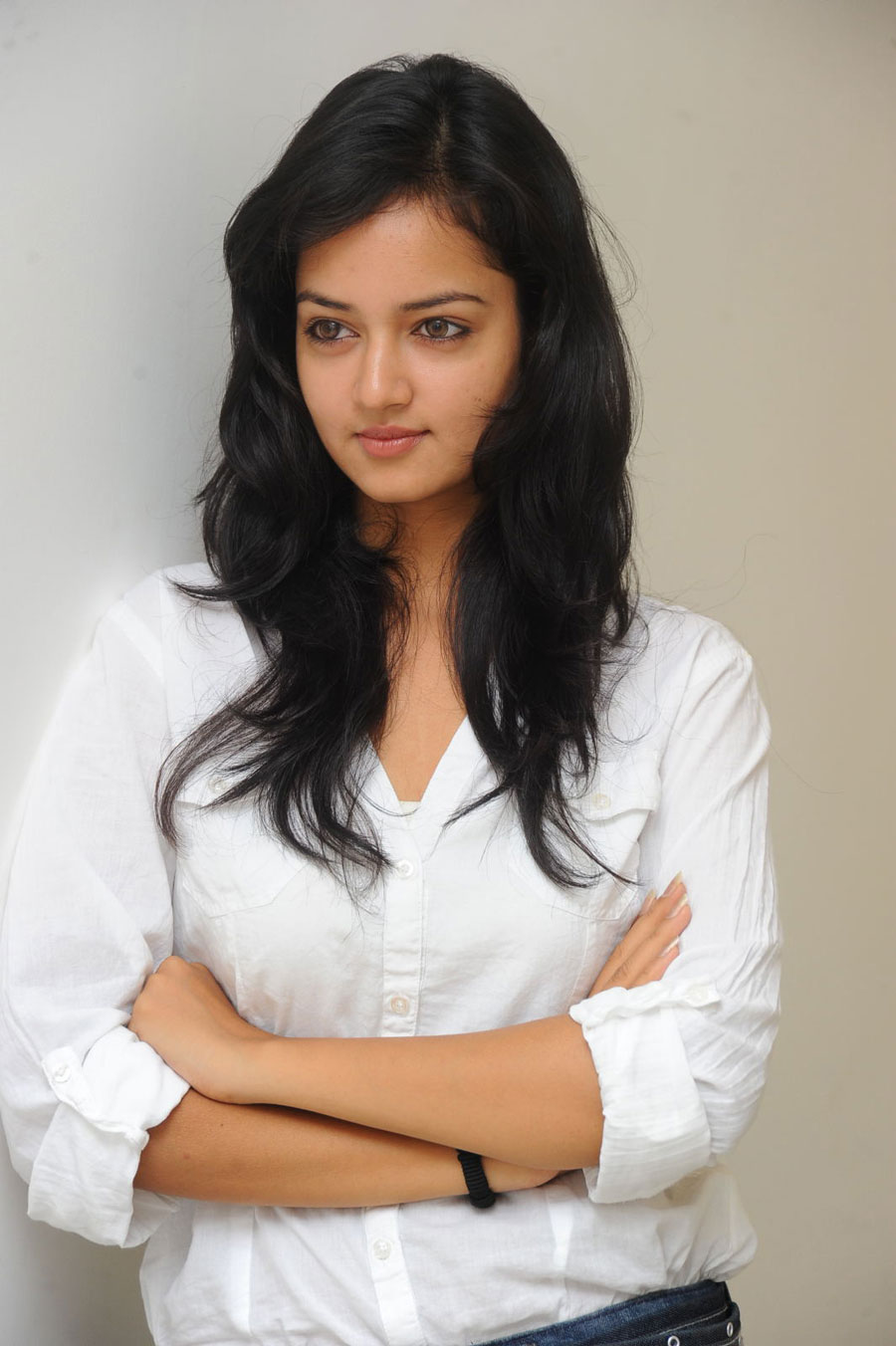Shanvi Shoot in Adda Press Meet Photo Gallery Sanvi-11