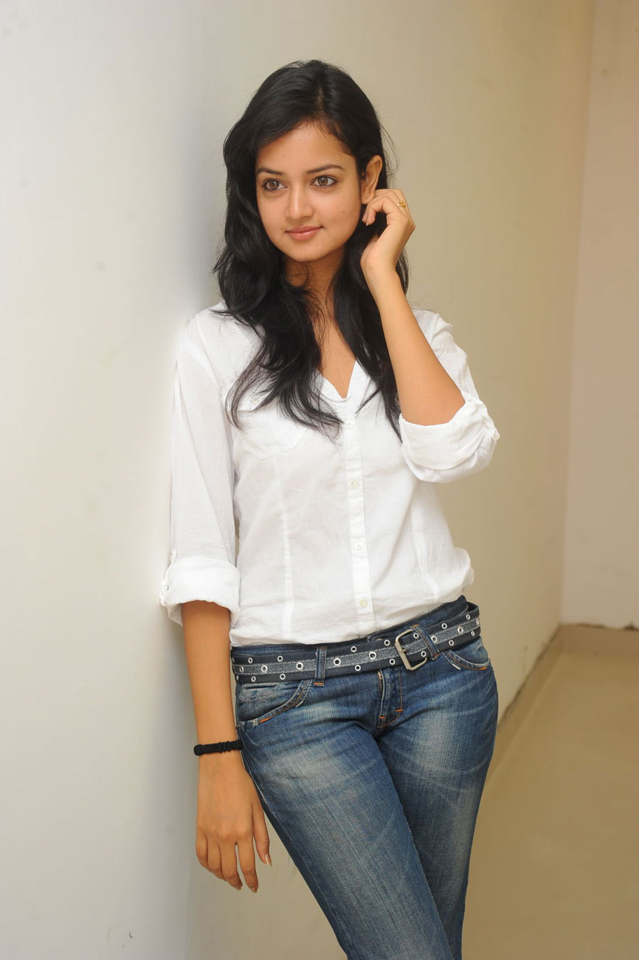 Shanvi Shoot in Adda Press Meet Photo Gallery Sanvi-12