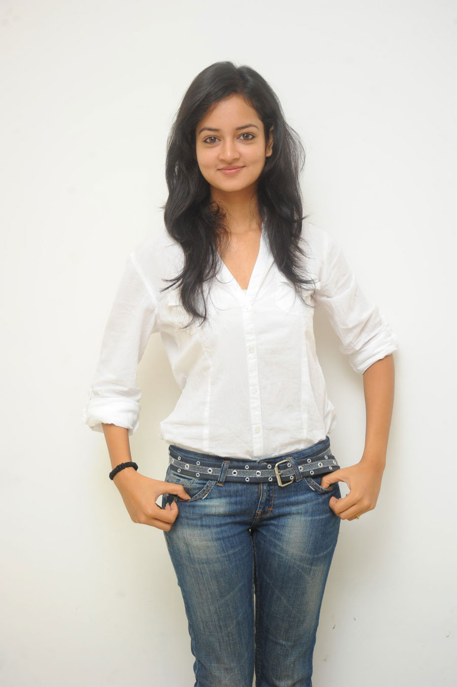 Shanvi Shoot in Adda Press Meet Photo Gallery Sanvi-15