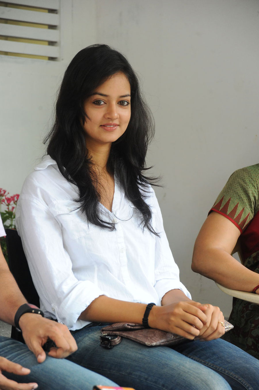 Shanvi Shoot in Adda Press Meet Photo Gallery Sanvi-19