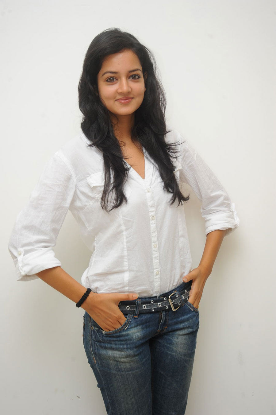 Shanvi Shoot in Adda Press Meet Photo Gallery Sanvi-20