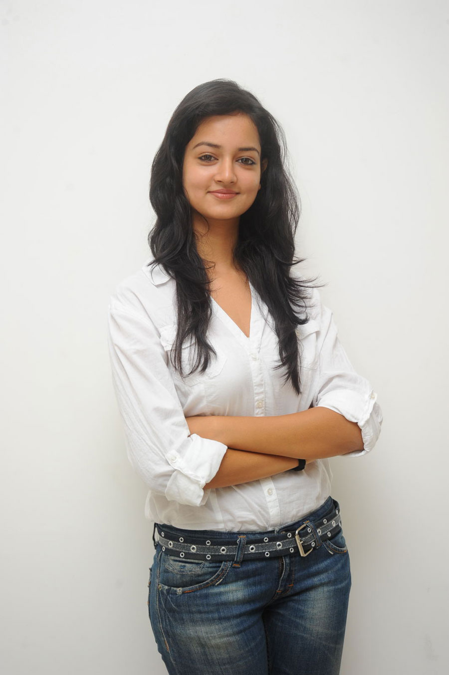Shanvi Shoot in Adda Press Meet Photo Gallery Sanvi-21