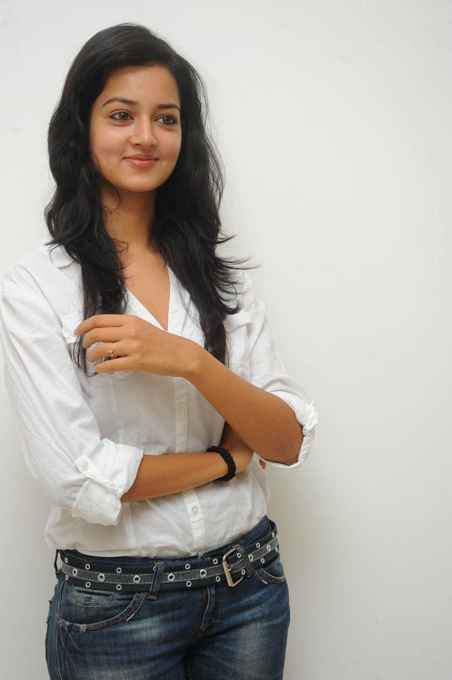 Shanvi Shoot in Adda Press Meet Photo Gallery Sanvi-22