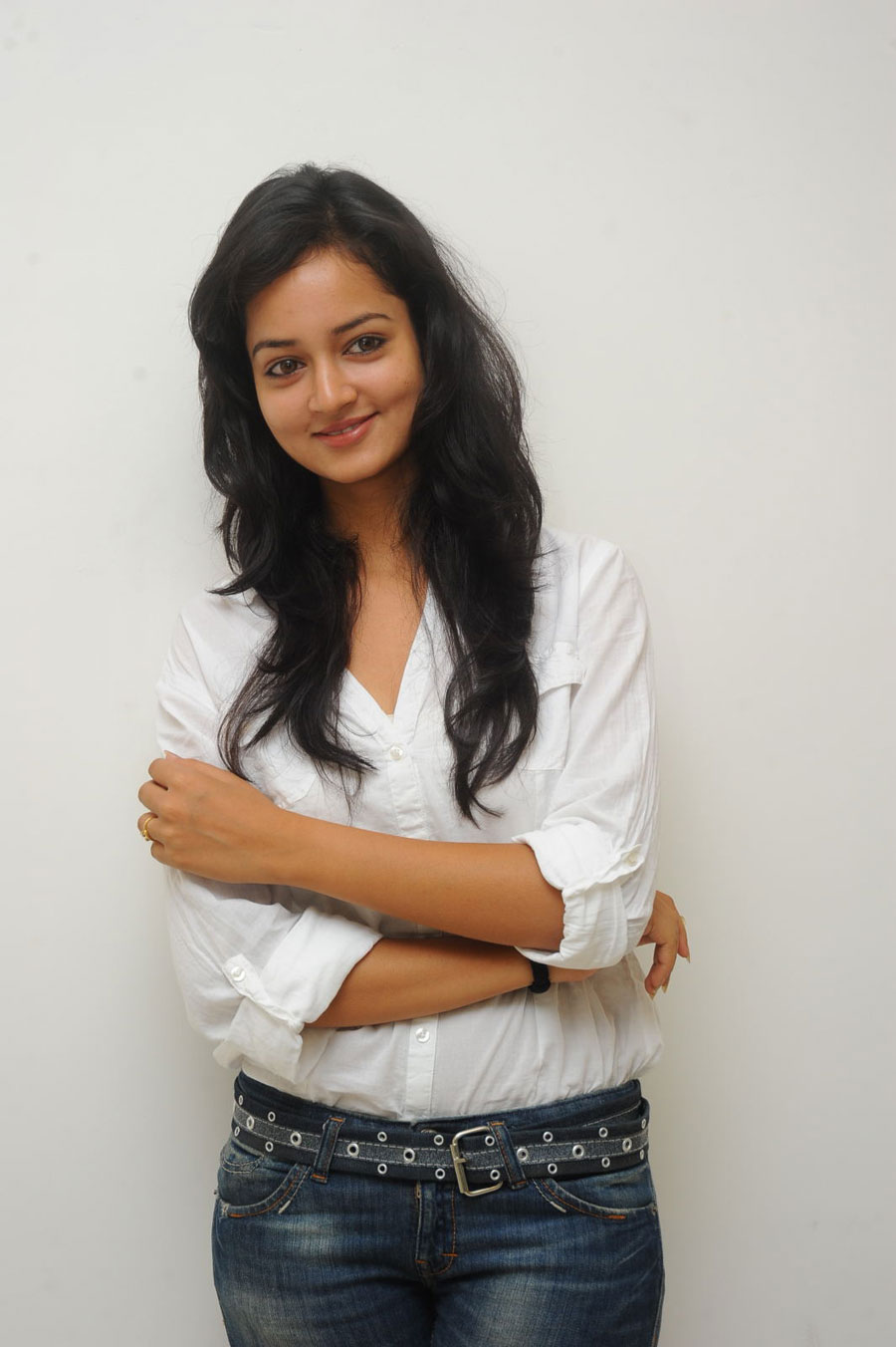 Shanvi Shoot in Adda Press Meet Photo Gallery Sanvi-23