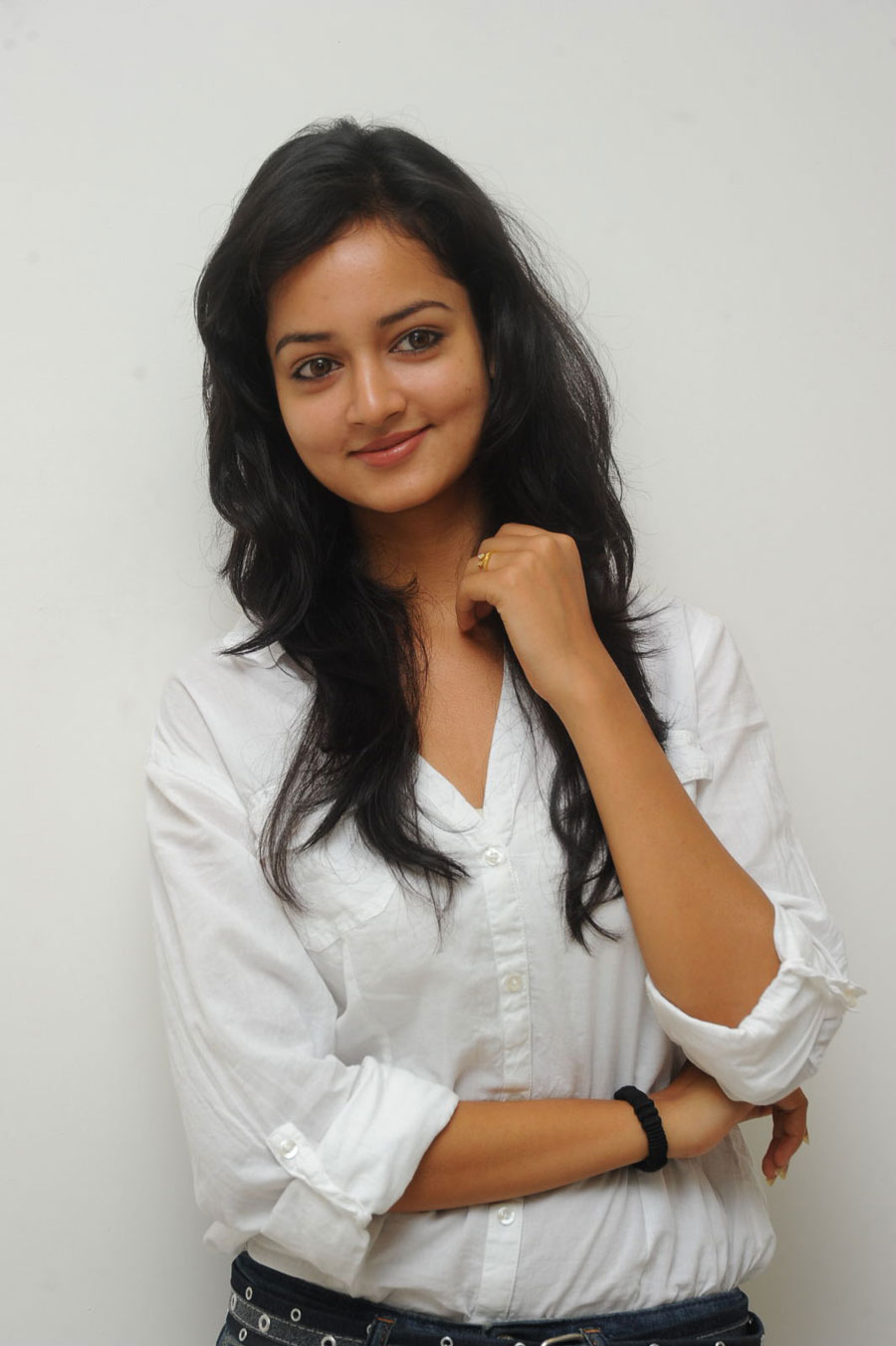 Shanvi Shoot in Adda Press Meet Photo Gallery Sanvi-24