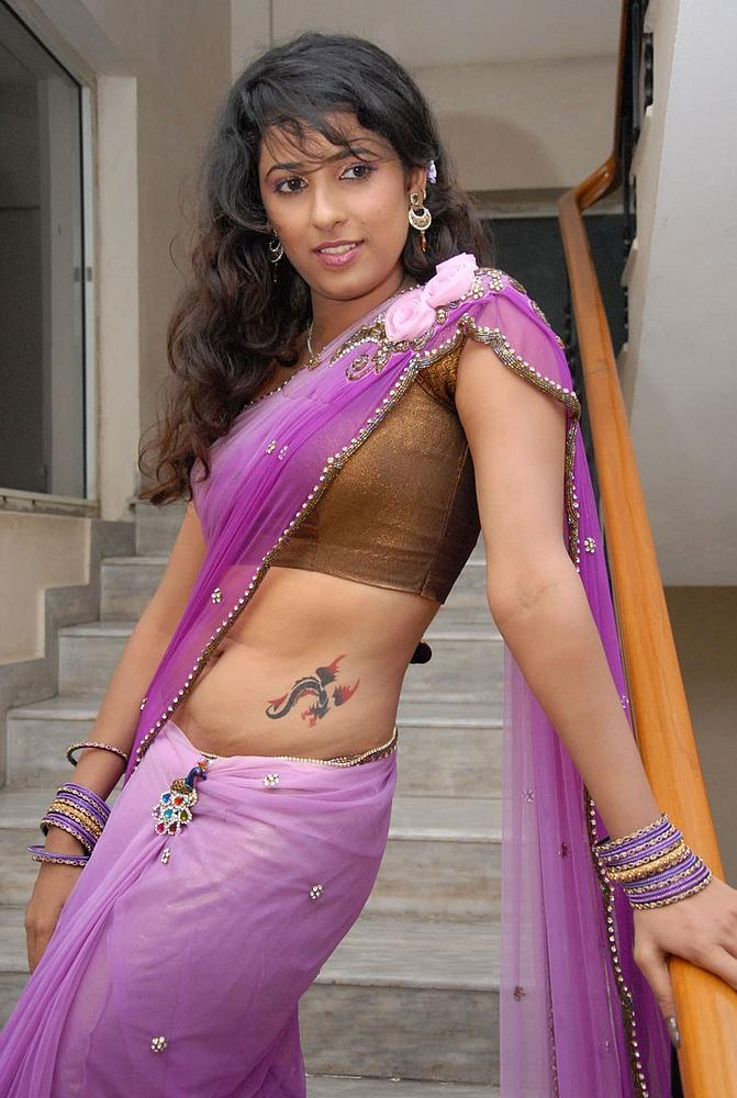 Shravya Reddy with Tattoo Photo Set Shravy14