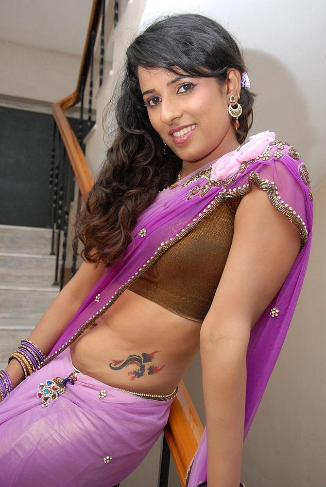 Shravya Reddy with Tattoo Photo Set Shravy24