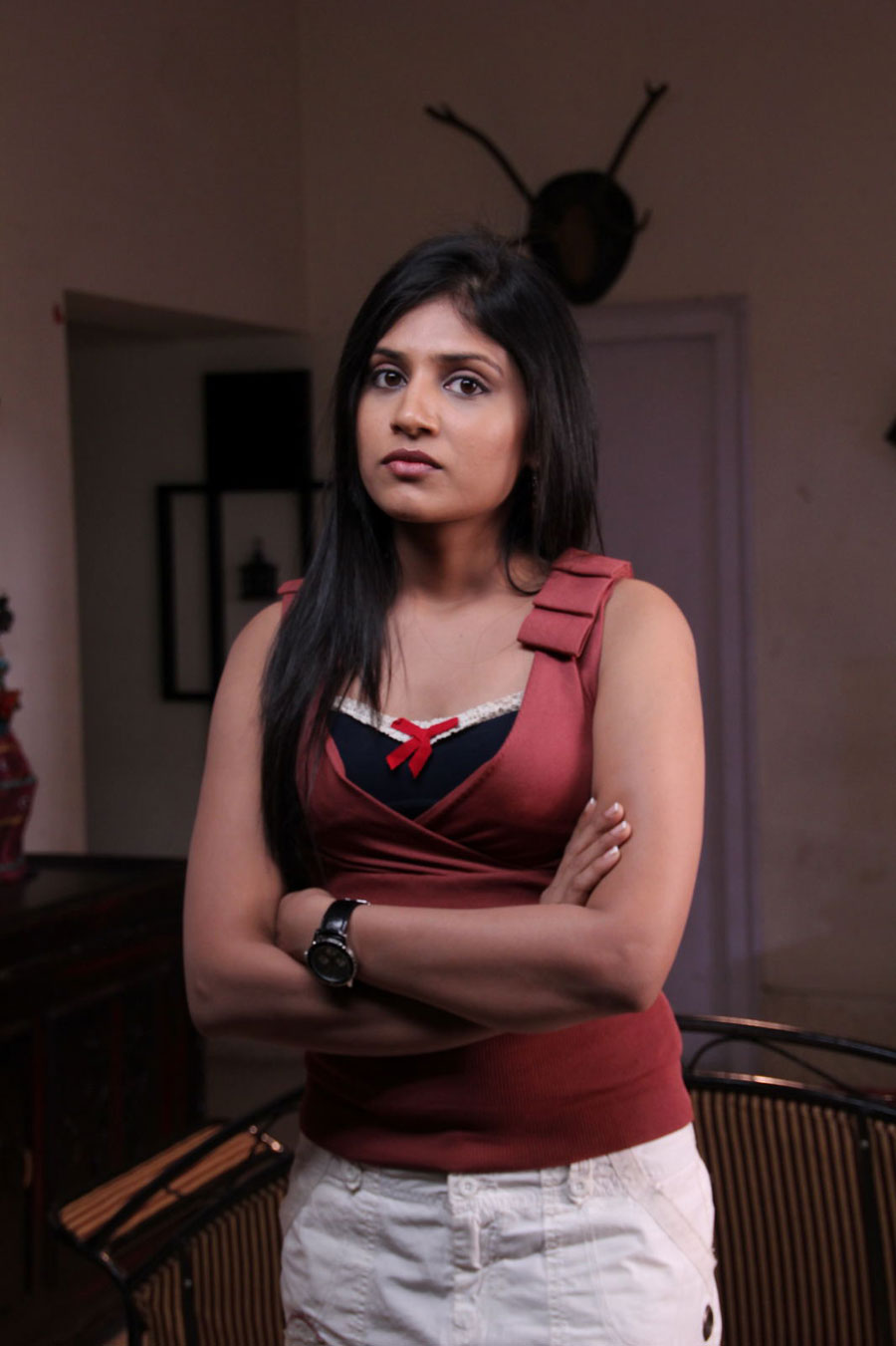 Shwetha Pandit from Theater Lo Movie Photo Gallery Swetha11